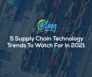 5 Supply Chain Technology Trends To Watch For In 2021