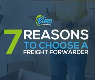 7 REASONS TO CHOOSE A FREIGHT FORWARDER
