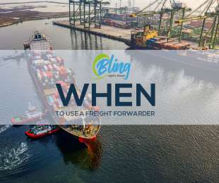 WHEN TO USE A FREIGHT FORWARDER